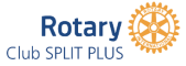 Rotary klub Split Plus Logo
